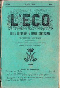 Primo eco 1892 copertina