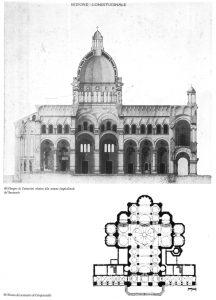 Progetto e Pianta Santuario