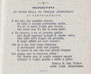 Preghiera Alla Madonna di Campocavallo