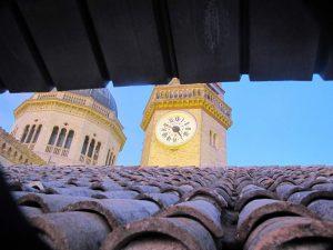 Orologio campanile santuario campocavallo